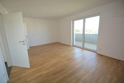 Wohlfühlen in der Vorstadt! Zur Eigennutzung oder Vermietung! 2-Zimmer-Wohnung mit großer Loggia!