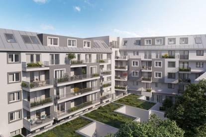 Ideale Raumaufteilung - 3- Zimmer Wohnung mit Terrasse und Garten