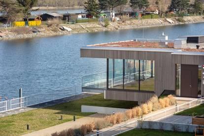 HAVIENNE - exklusiver, moderner BUNGALOW mit Eigengarten direkt am Wasser - ERSTBEZUG