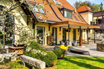 Großartig in jeder Hinsicht: Loft mit großem Garten in Dornbach