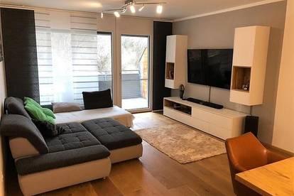 Hatting: Helle und moderne 3-Zimmer-Wohnung mit Balkon!