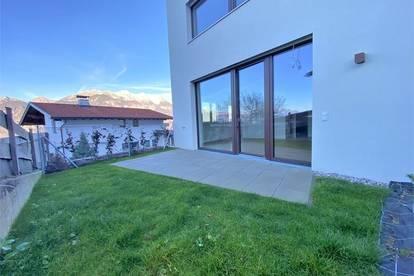 Axams-Erstbezug: Top einteteilte und helle 2-Zimmer-Wohnung mit Garten und Terrasse (Top W2a)