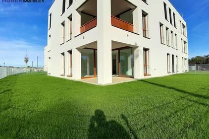 DOPPELHAUSÄHNLICHE 82m² NEUBAUWOHNUNG - ERSTBEZUG - 12m² TERRASSE - UNGLAUBLICHER 242m² EIGENGARTEN DE LUXE TOP-1