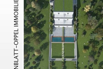 Erstbezug! Wunderschönes Reihen-Doppelhaus mit Pool in Grünruhelage