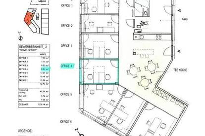 Home Office 4 am Marchfeldkanal / Miete