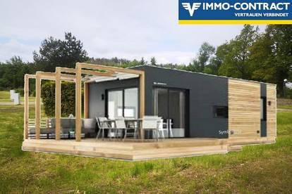 Naturnahes Wohnen in Ihrem Luxus Mobilheim 39 m² am Edlersee - Geras - Provisionsfrei!