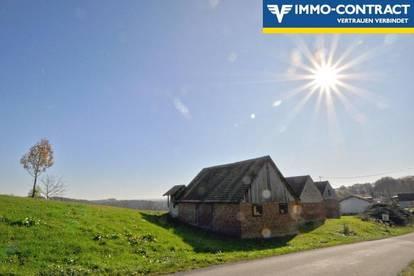 Traumlage mit Aussicht -  Landwirtschaftliche Gebäude mit Nussbaumplantage