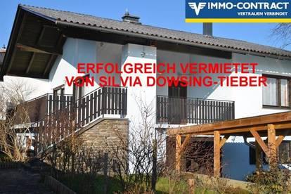 ERFOLGREICH VERMIETET VON SILVIA DOWSING-TIEBER - Gemütliches Haus mit Terrasse und Garten