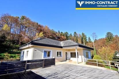 Ein- oder Zweifamilienhaus im grünen mit herrlicher Sonnenterrasse, in einer Sackgasse - 5km ins Zentrum