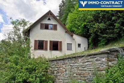 Gemütliches Haus mit großer Terrasse - Etwas sanierungsbedürftig, aber einzugsbereit