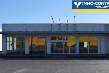 Geschäftslokal (Edel-Rohbau) mit 533m² Nutzfläche in Frauenkirchen zu vermieten!