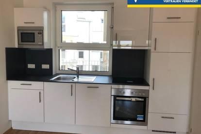 Moderne 2-Zimmer-Wohnung mit Balkon ,neue Küche und Tiefgaragenplatz