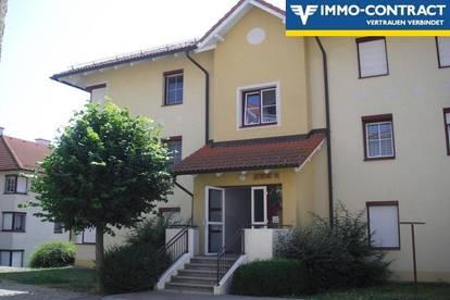 freundliche Miet-Wohnung, mit sonnigem Balkon und Garagenplatz