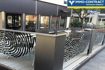 Cafe, Bar mit Schanigarten und allen Genehmigungen - sofort losstarten