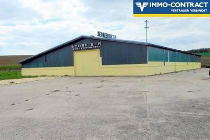 1342m² große Halle für Pferdeliebhaber, Produktion, Werkstatt etc. auf 7.649m² Grund