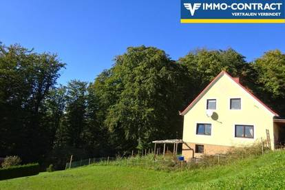 Idyllische Waldrandlage im Grünen - Wohnliches Haus mit Potential
