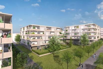 Wohnung mit Balkon und Tiefgarage in Eisenstadt