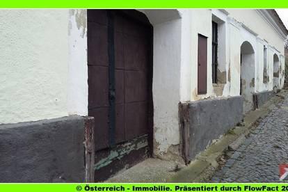 bei Ravensbach im Weinviertel - ein großes Kellerhaus - 1755