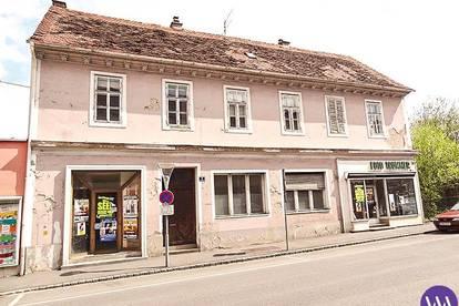Sanierungsbedürftiges Geschäfts- bzw. Wohnhaus in Zentrum von Feldbach ...!