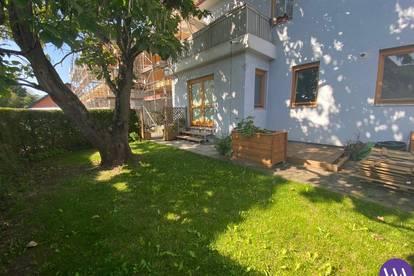 Lichtdurchflutete Erdgeschosswohnung mit Garten direkt in Feldbach ...!