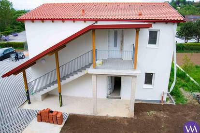 Traumhafte Neubauwohnung mit Balkon am Stadtrand von Gleisdorf ...!