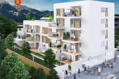 Gartenwohnung im Neubauprojekt