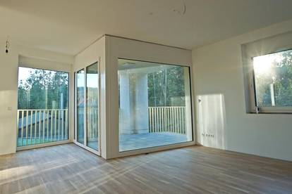 Erstbezug in Mariatrost: 2-Zi. -Wohnung mit großer Loggia und Balkon