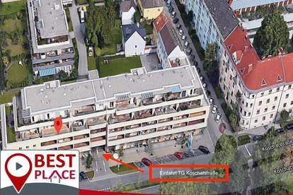 Tiefgaragenplätze in Klagenfurt zu vermieten! Sterneck und Koschatstraße