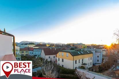 Dein Platz an der Sonne mit Panoramablick - 3 Zimmerwohnung direkt im Zentrum