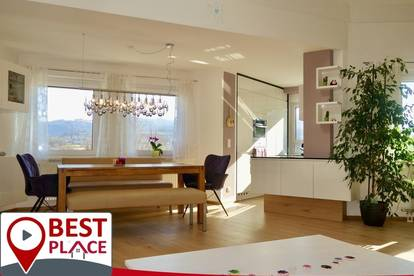 Sonnige Penthouse-Maisonette mit Aussicht - ohne Einblick