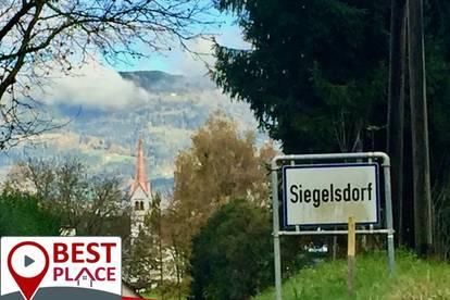 Siegelsdorf-Baugrund in sonniger Lage