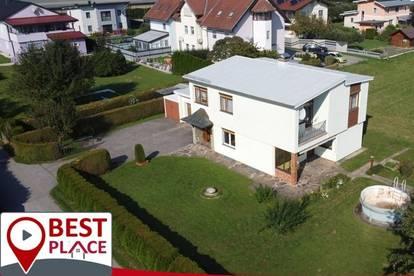 St. Andrä: Großes, RESERVIERT! liebevoll gepflegtes Wohnhaus in sonniger Ortsrandlage