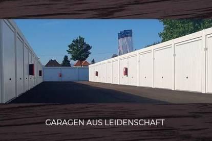 NEUE GARAGEN IN GESICHERTER ANLAGE - LAGERFLÄCHEN AB 8 M²