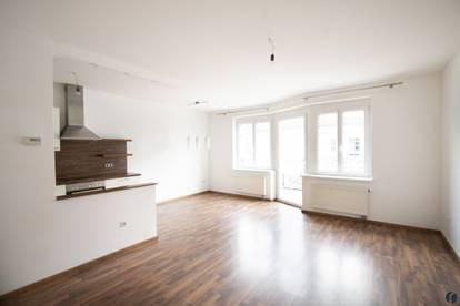 3 Zimmer Maisonette mit Balkon und Tiefgarage