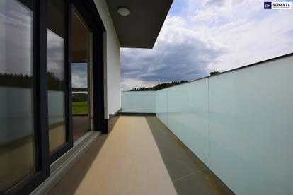 TRAUMHAFT: Stilvoller Erstbezug. 3-Zimmer. Hochmodern. Grünblick + Balkon + Carport