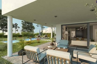 Familientraum: Bella Vita! Lebensqualität pur im neuen exklusiven Einfamilienhaus mit perfekter Raumaufteilung in einer Grünruheoase in der Nähe Wiens!