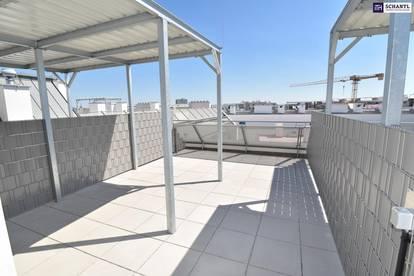 """""""DER MARKHOF"""" - ist einfach geil!Drei-Zimmer-Erstbezug mit separater Dachterrasse on Top. Provisionsfrei!"""