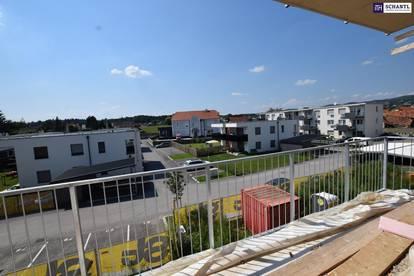 ITH FANTASTISCHE, LEISTBARE und PROVISIONSFREIE TERRASSENWOHNUNG! ca. 70 m², 3 ZIMMER, komplett WESTLICHE AUSRICHTUNG! FINANZIERUNGSBERATUNG