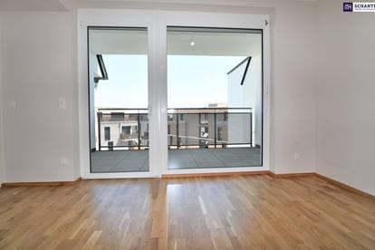 """""""DER MARKHOF"""" - Pärchen und Singles aufgepasst! Die perfekte Wohnung wartet auf Sie! 2-Zimmer mit Loggia im Erstbezug! Provisionsfrei!"""