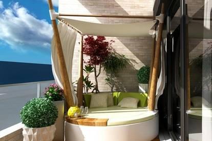 ITH SONNIGES PENTHOUSE! 63 m², 3 ZIMMER, WESTTERRASSE! EIGENPLANUNG und PROVISIONSFREI! ZIEGELMASSIV-BAUWEISE, FINANZIERUNGSBERATUNG