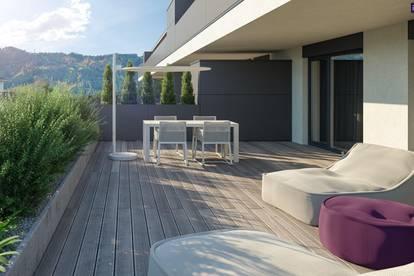ITH BESSER GEHT NICHT! 90m², 4 ZIMMER, 23 m² SONNENTERRASSE! PROVISIONSFREIER ERSTBEZUG! WEST TERRASSE! ZIEGELMASSIV-BAUWEISE, FINANZIERUNGSBERATUNG