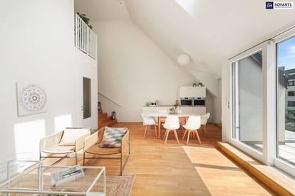 360-Grad-Tour! Schöner Wohnen geht nicht! Phänomenaler Blick + 5-Zimmer + 150 m² Freiflächen + prachtvolle Wohnküche + Hietzinger Bestlage!