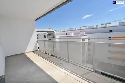 """""""DER MARKHOF"""" - Coole drei Zimmer im Erstbezug und eine prachtvolle Dachterrasse in Top!"""