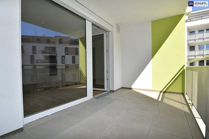 """""""DER MARKHOF"""" - Viel Platz auf kleinem Raum! Provisionsfreie Erstbezug-Wohnung mit Loggia"""