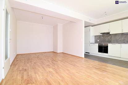 """""""DER MARKHOF"""" - Ideal aufgeteilte Zwei-Zimmer-Wohnung im Innenhof mit feiner Loggia! Provisionsfrei ab 01.10.2020."""