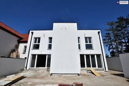 Ziegelmassivbau auf Eigengrund! Stilvolle Doppelhaushälfte!
