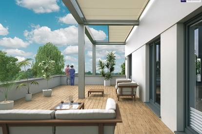 WOW!! Hochmoderne ca. 120m² große Neubauwohnung! 5 Zimmer-Penthouse!