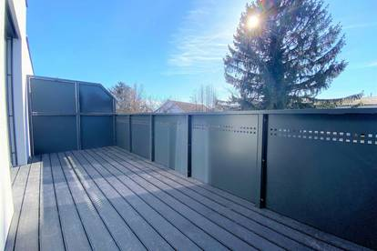 Modern, Grün, einfach Ebergassing! Perfekt aufgeteiltes 5-Zimmer Reihenhaus mit großzügigem Balkon und Eigengarten!