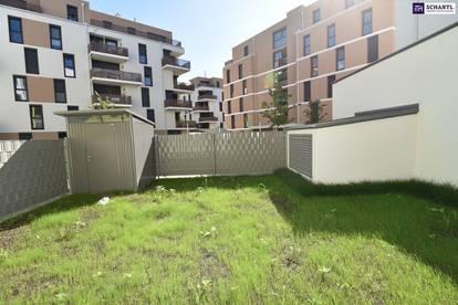 """""""Der Markhof"""" - einfach WOW! Erstbezug mit zwei Zimmer und großem Garten. Jetzt besichtigen!"""