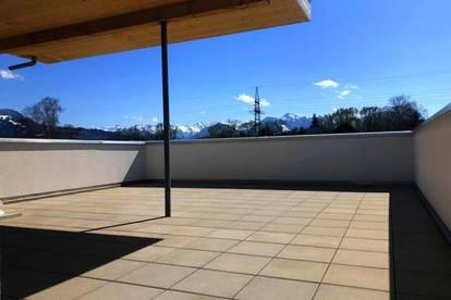 Neue 3 Zimmerwohnung über 2 Etagen mit großer Dachterrasse in Koblach!